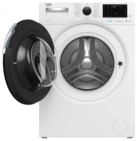 Masina de spalat rufe Beko WUE7746XW0, 7 kg, 1400 rpm, SteamCure, HomeWhiz, Motor ProSmart™ Inverter, Child Lock, Clasa A+++, Alb 8