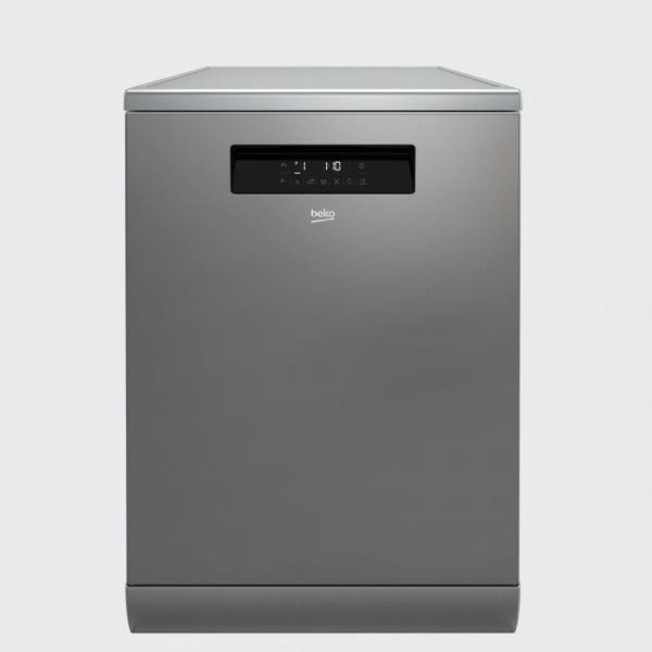 Masina de spalat vase Beko DFN38530X, 15 seturi, 8 programe, Clasa A+++, 60 cm, Inox 0