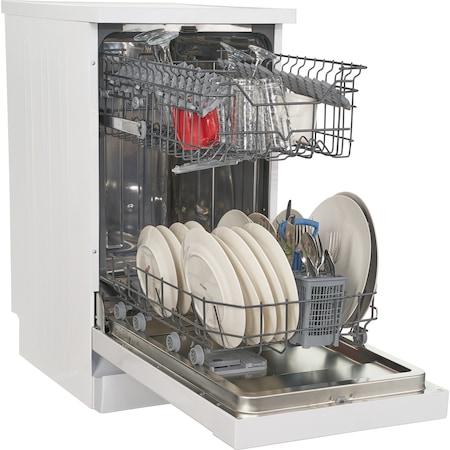 Masina de spalat vase Heinner HDW-FS4505WA++, 10 seturi, 5 programe, Clasa A++, Control electronic, 45 cm, Alb 2