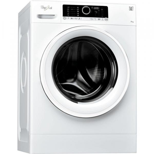 Masina de spalat rufe Whirlpool Supreme Care FSCR70414, 6th Sense, 7 kg, 1400 RPM, Clasa A+++, 60 cm, Alb 2