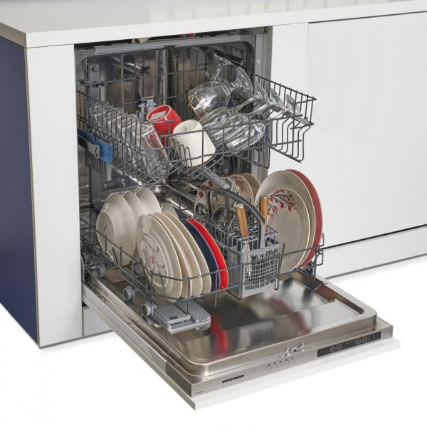 Masina de spalat vase incorporabila Heinner HDW-BI6005A++, 12 seturi, 5 programe, Clasa A++, Control electronic, Display LED, Aquastop, 60 cm 3