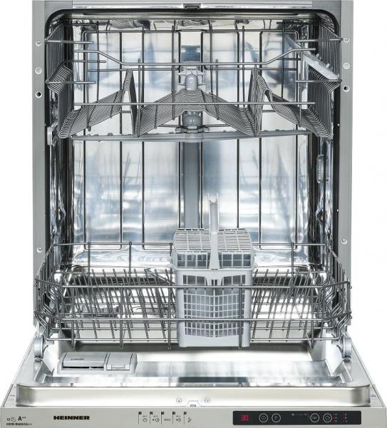 Masina de spalat vase incorporabila Heinner HDW-BI6005A++, 12 seturi, 5 programe, Clasa A++, Control electronic, Display LED, Aquastop, 60 cm 1