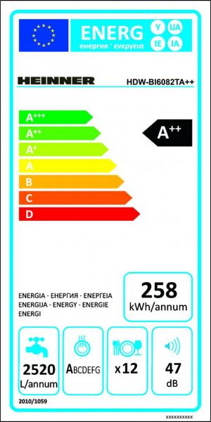 MASINA SP VASE HEINNER HDW-BI6082TA++ 4