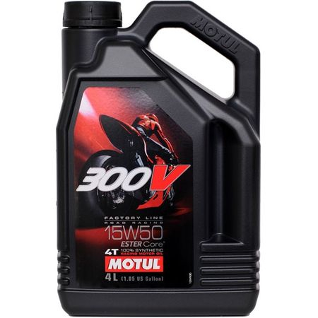 Ulei motor Motul 300V, 15W50 4T FL, 1L 0