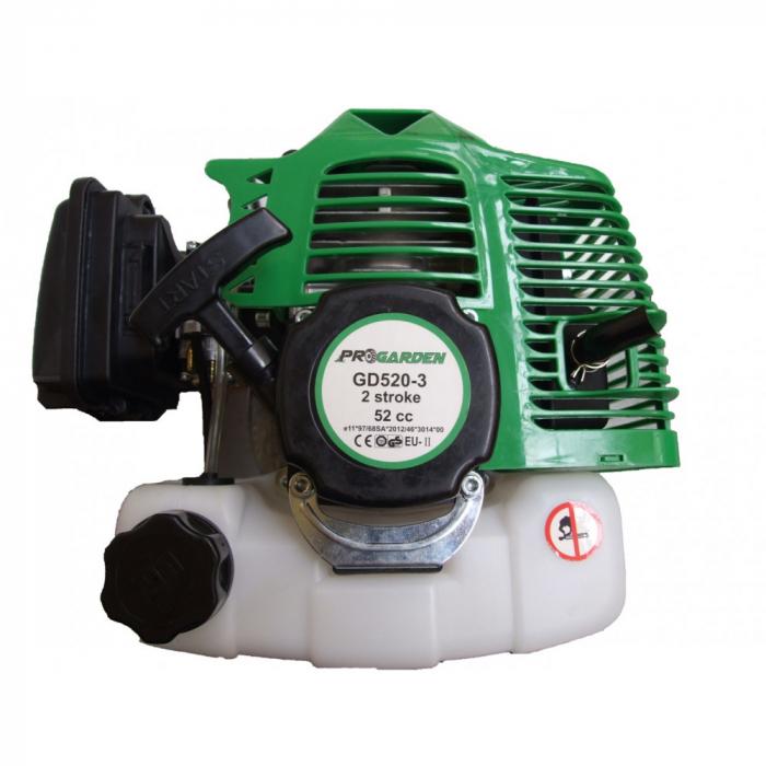 Motoburghiu pamant ProGARDEN GD520-3, 2.3CP, 2 timpi, amestec ulei/benzina 4