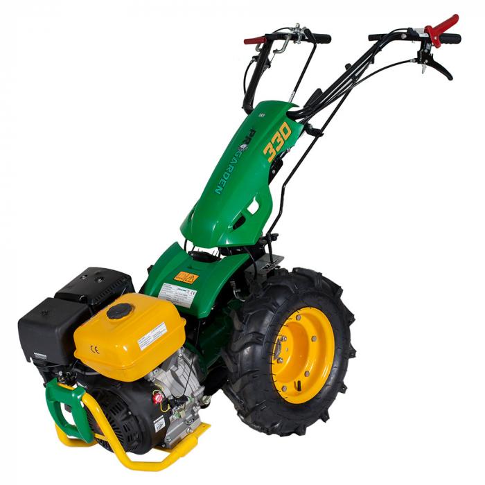 Motocultor multifunctional 9CP ProGARDEN BT330/G177, benzina, 3+2 viteze, reductor 5