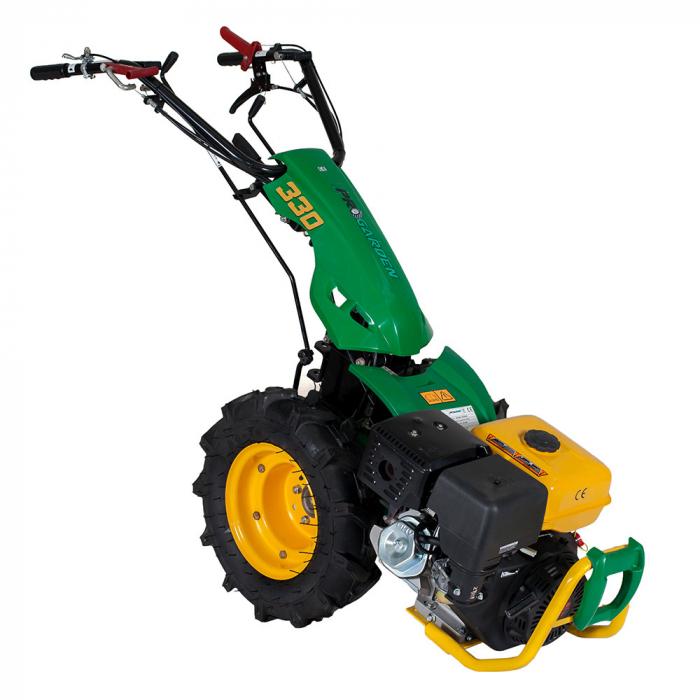 Motocultor multifunctional 9CP ProGARDEN BT330/G177, benzina, 3+2 viteze, reductor 0
