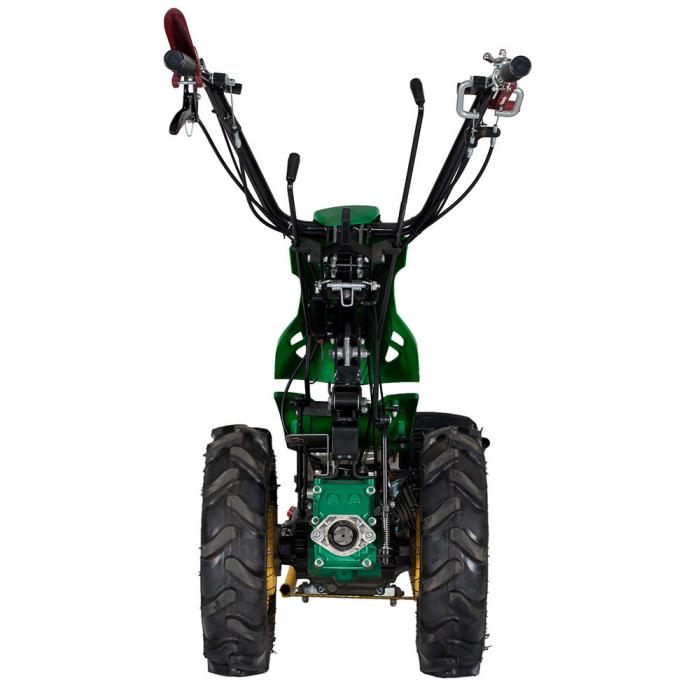 Motocultor multifunctional 9CP ProGARDEN BT330/G177, benzina, 3+2 viteze, reductor 4