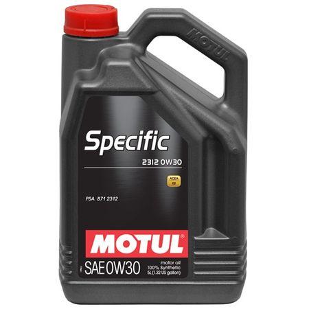 Ulei motor Motul Specific 2312, 0W30, 5L 0