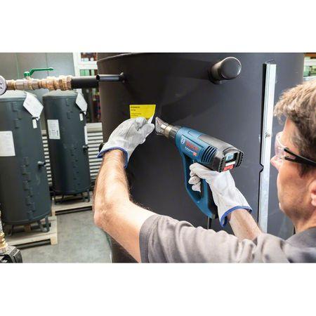 Pistol cu aer cald Bosch Professional GHG 23-66, 2300 W, 500 l/min dedbit aer maxim, 50-650°C temperatura lucru + talpa de sudura + 4 duze + geanta transport 5