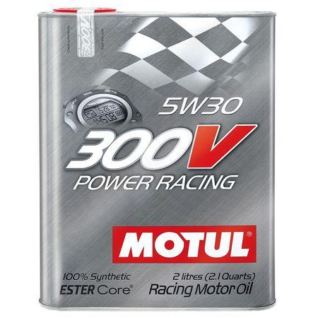 Ulei motor Motul 300V Power Racing 5W30, 2L [0]