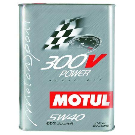 Ulei motor Motul 300V Power 5w40, 2L 0