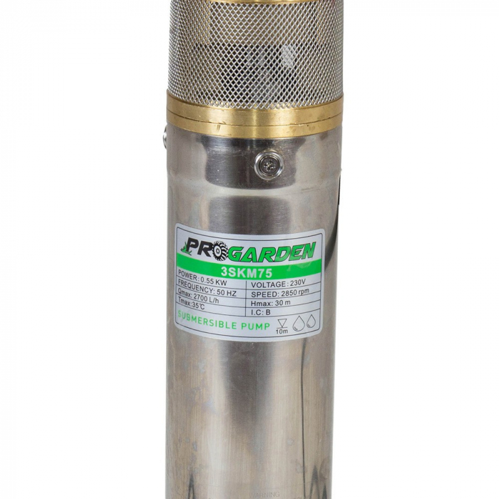 Pompa submersibila apa curata ProGARDEN 3SKM75, 750W, 45L/min 1