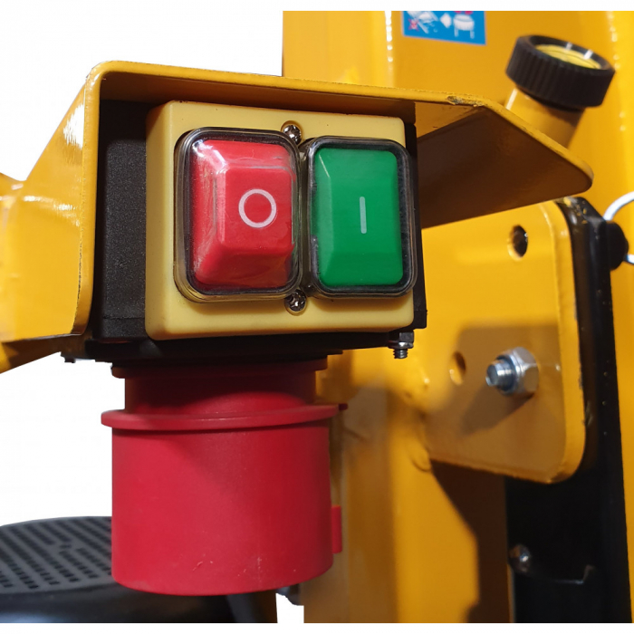 Despicator electrohidraulic busteni ProGARDEN 65712, 12T, 400V, 3.3kW 4