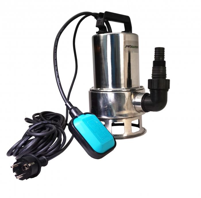 ProGARDEN CSP400Dinox-1A pompa submersibila apa curata, 400W, 110L/min, plutitor 0