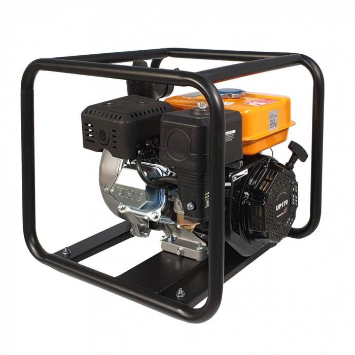 """Motopompa 2""""/50mm ProGARDEN GHP50, benzina, apa curata, inalta presiune, pornire la sfoara 2"""