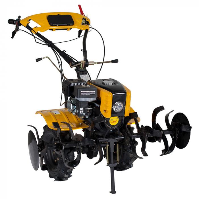 Motocultor 7CP ProGARDEN HS1000B, 2+1, roti 4.00-10, benzina + plug bilonat 0