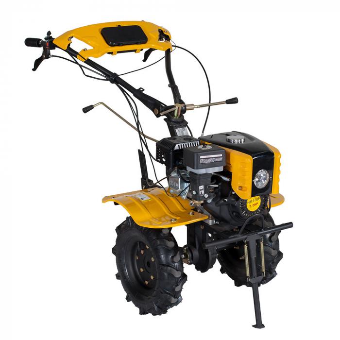 Motocultor 7CP ProGARDEN HS1000B, 2+1, roti 4.00-10, benzina + plug bilonat 1