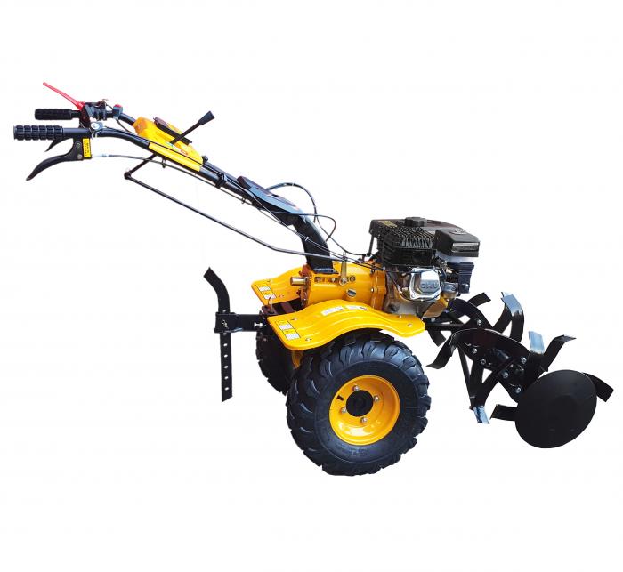 ProGARDEN HS1000BW motocultor 7CP, 2+1, roti ATV, manicot rulment, benzina [Campo 853] 0