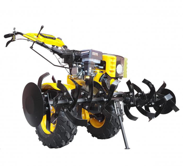 ProGARDEN HS1000BW motocultor 7CP, 2+1, roti ATV, manicot rulment, benzina [Campo 853] 2