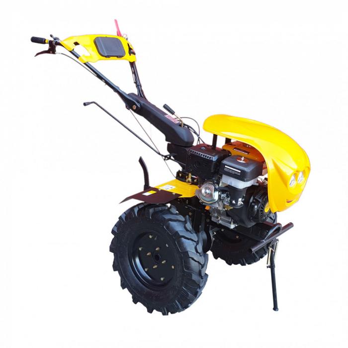 Motocultor 18CP ProGARDEN HS1100-18, 2+1, roti 6.00-12, benzina, euro5 0