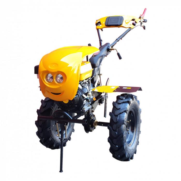 Motocultor 18CP ProGARDEN HS1100-18, 2+1, roti 6.00-12, benzina, euro5 3