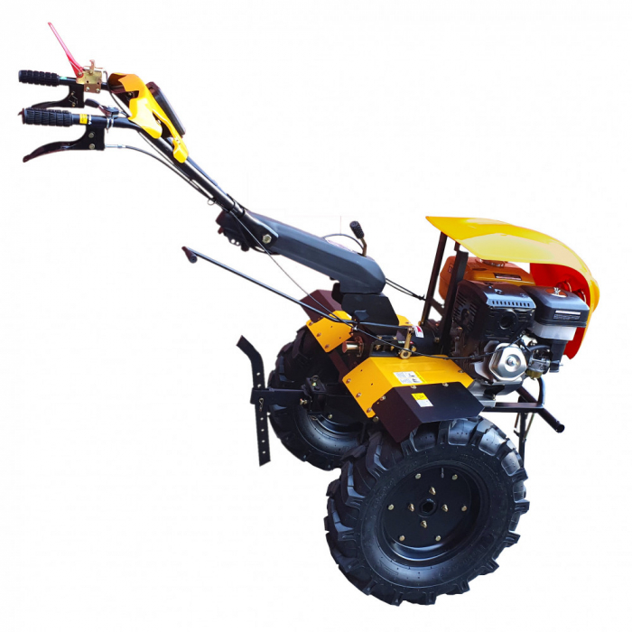 Motocultor 18CP ProGARDEN HS1100-18, 2+1, roti 6.00-12, benzina, euro5 1