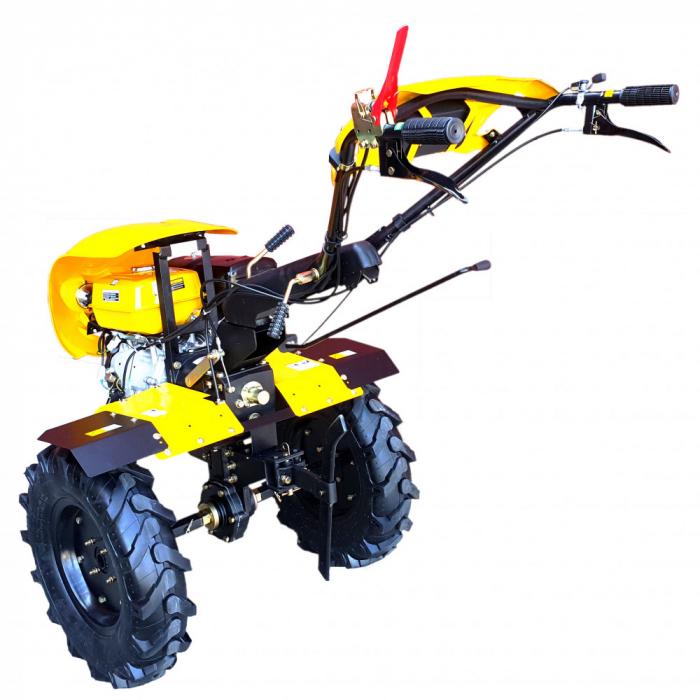 Motocultor 18CP ProGARDEN HS1100-18, 2+1, roti 6.00-12, benzina, euro5 2