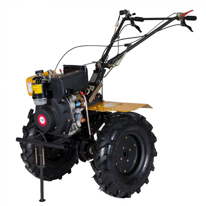 Motocultor 7CP ProGARDEN HS1100A, 2+1, roti 5.00-12, diesel 2