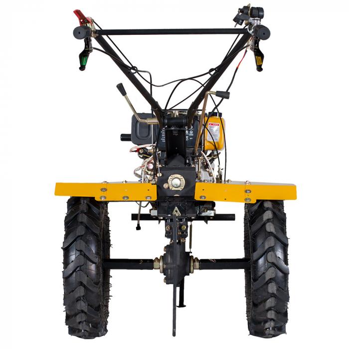 Motocultor 7CP ProGARDEN HS1100AE, 2+1, roti 5.00-12, diesel, pornire electrica 1