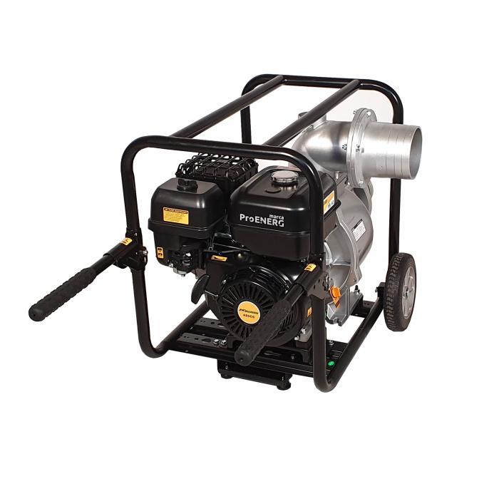 "ProGARDEN PB60 motopompa 6""/150mm, benzina, apa curata, pornire la sfoara 1"