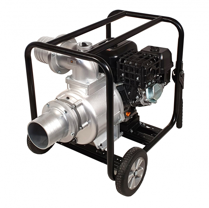 "ProGARDEN PB60 motopompa 6""/150mm, benzina, apa curata, pornire la sfoara 0"
