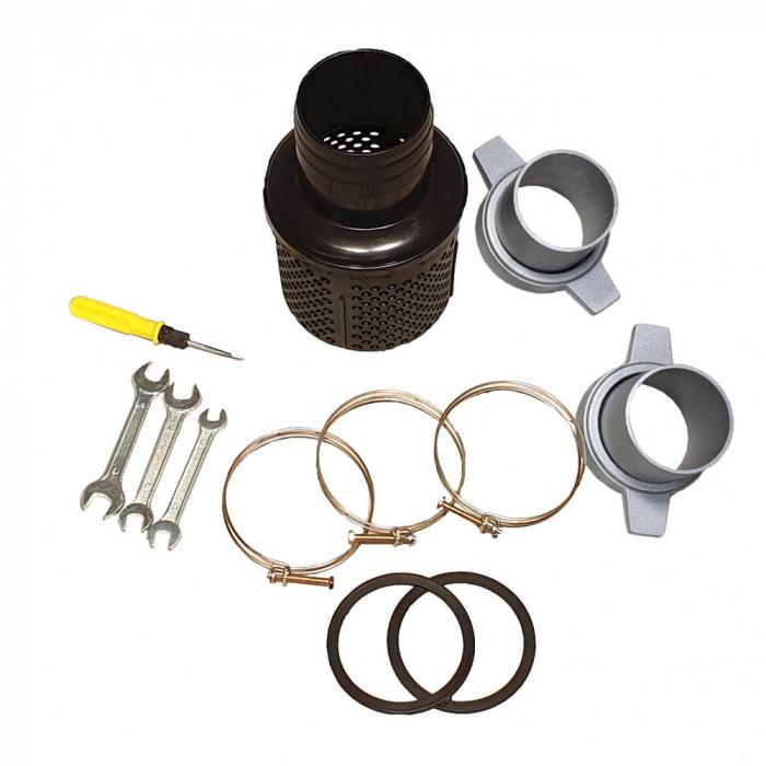 """Motopompa 3""""/75mm ProGARDEN PD30, diesel, apa curata, pornire la sfoara 3"""