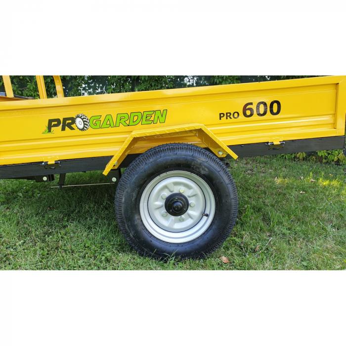 Remorca ProGARDEN PRO-R600 600kg pentru motocultor 1