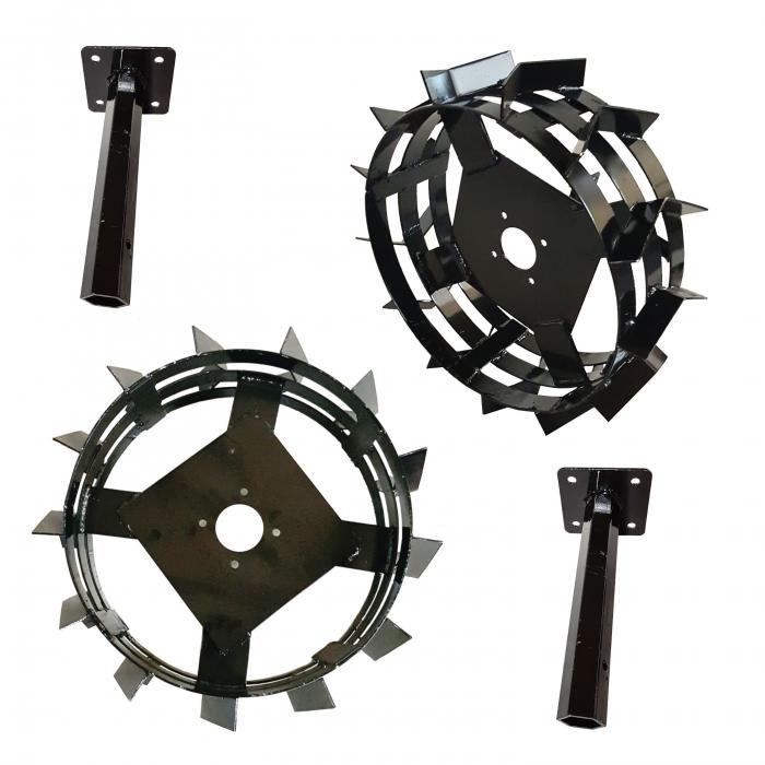 ProGARDEN set roti metalice 550x180, manicot cu flanse, hex 32mm 0