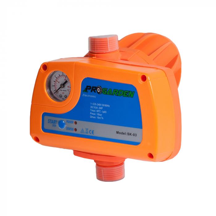 """ProGARDEN SK-03 automatizare electropompa max. 2.2kW, 230V, 10bar, 1"""" 0"""