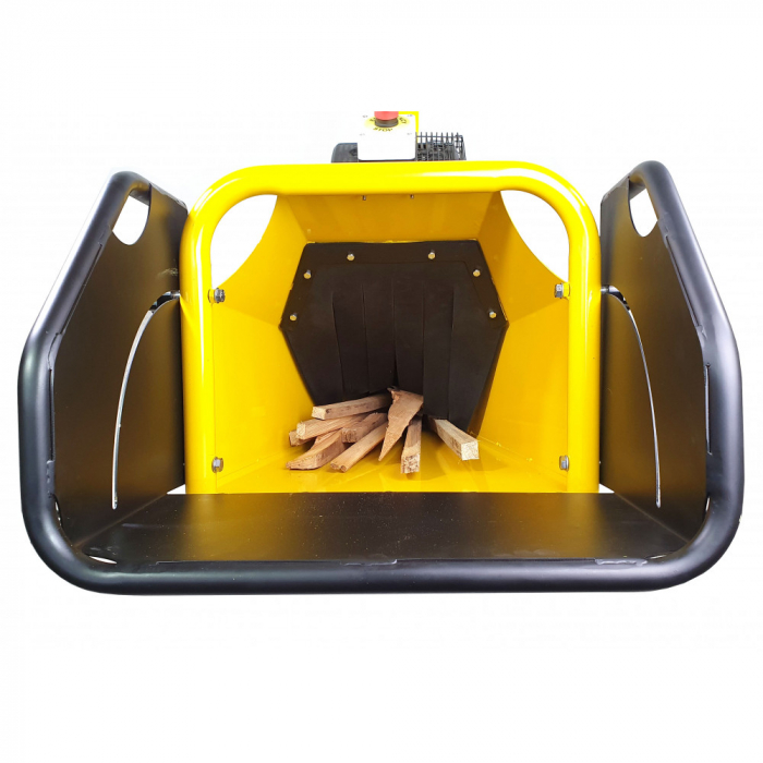 Tocator resturi vegetale ProGARDEN TB100, 15CP, benzina, 6mc/h, 65-100mm, pornire electrica 3