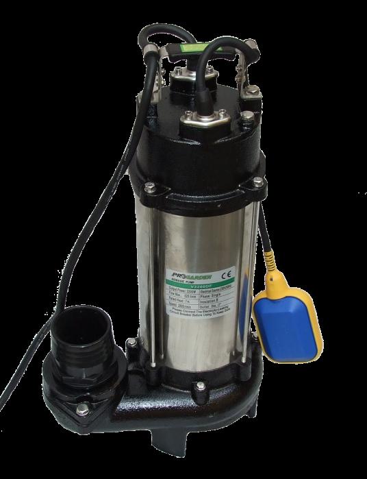 ProGARDEN V2200DF pompa submersibila apa murdara, 2200W, 520L/min, tocator 0
