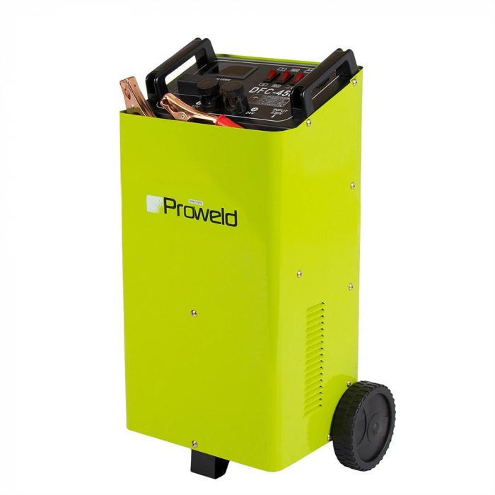 Robot pornire auto Proweld DFC-450A, monofazat 230V, curent incarcare 40/50 A 1