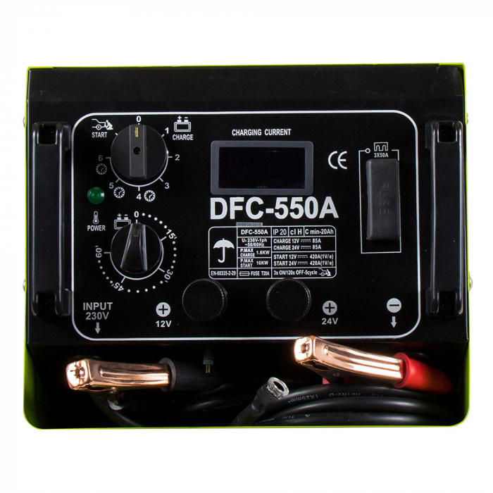 ProWELD DFC-550A redresor acumulatori 12V/24V functie Timer, Start [1]