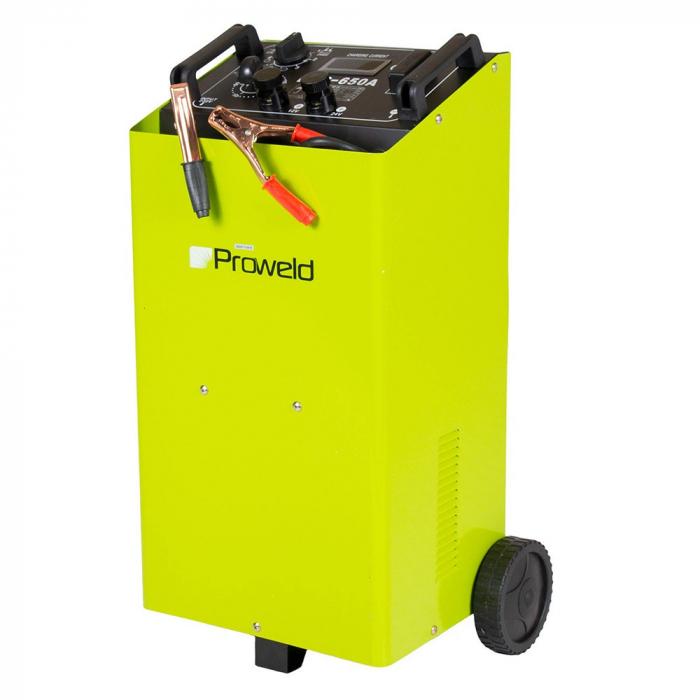 Redresor baterii + Robot ponire auto Proweld DFC 650 A 12V/24V, functie Timer, Start 1