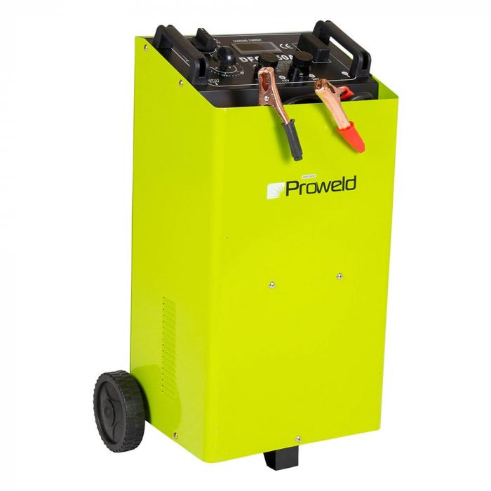 Redresor baterii + Robot ponire auto Proweld DFC 650 A 12V/24V, functie Timer, Start 0