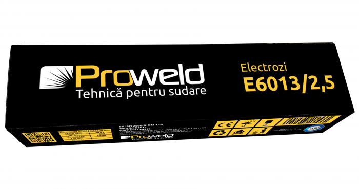 ProWELD E6013 electrozi rutilici 2.5mm, 5kg 2