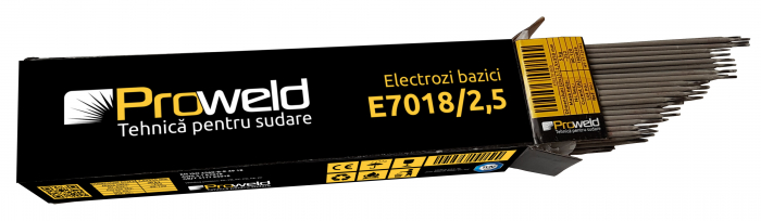 ProWELD E7018 electrozi bazici 2.5mm, 5kg 1