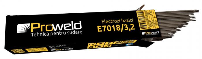 ProWELD E7018 electrozi bazici 3.2mm, 5kg 1