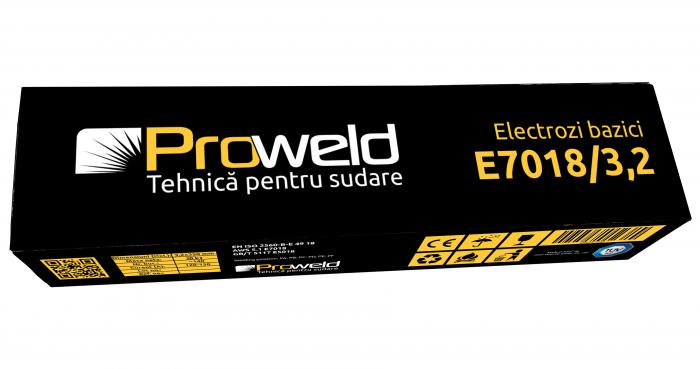 ProWELD E7018 electrozi bazici 3.2mm, 5kg 2