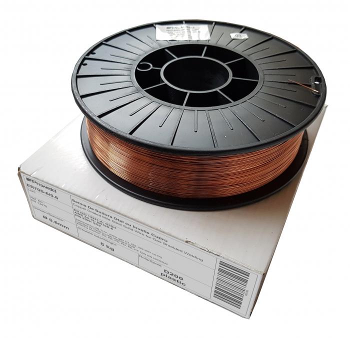 ProWELD ER70S-6 sarma sudura 0.6mm, rola 5kg/D200 0