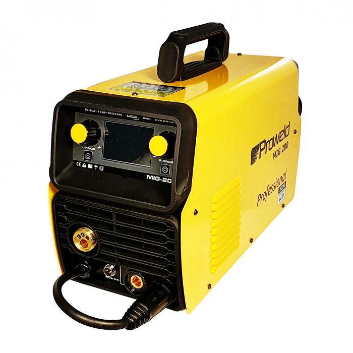 ProWELD MIG 200 invertor sudare MIG/MAG, profesional 0