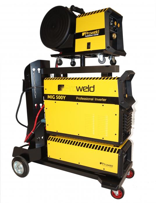 ProWELD MIG-500Y invertor sudare MIG/MAG profesional, derulator detasabil 0