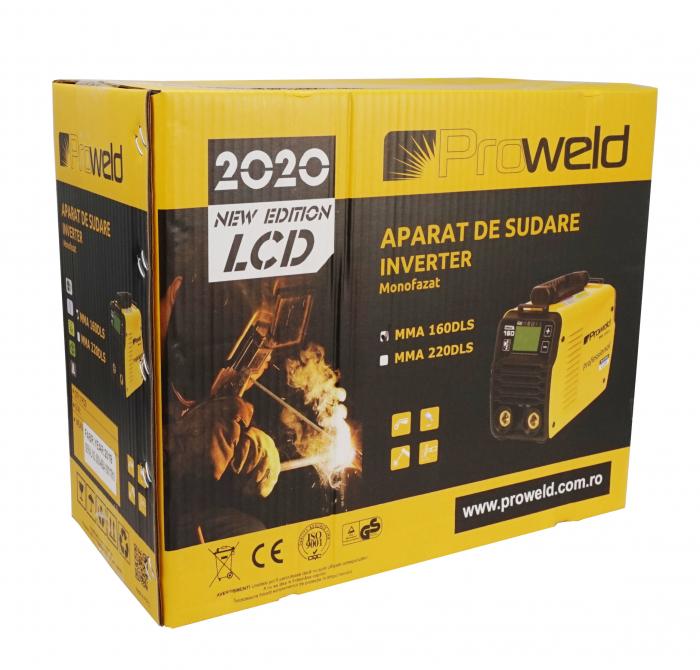 ProWELD MMA-160LCD invertor sudare, MMA/LiftTIG 2